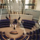 Der Plenarsaal des Reichstags in Berlin