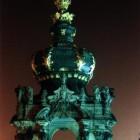 Der Zwinger in Dresden bei Nacht