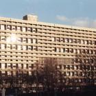 Die Westseite des Corbusierhauses