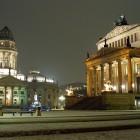 Der Gendarmenmarkt in einer Winternacht
