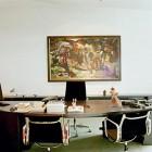 Der Schreibtisch des Bundeskanzlers