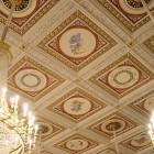 Die Decke des Konzertsaales