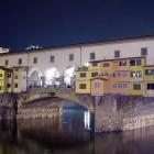 Die Ponte Vecchio bei Nacht