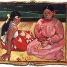 Paul Gauguin : Tahitische Frauen am Strand, 1891.