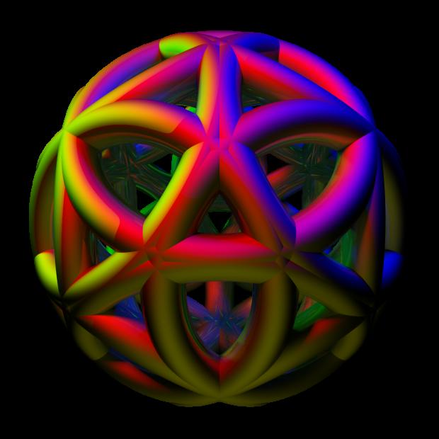 3D Object aus Ringen